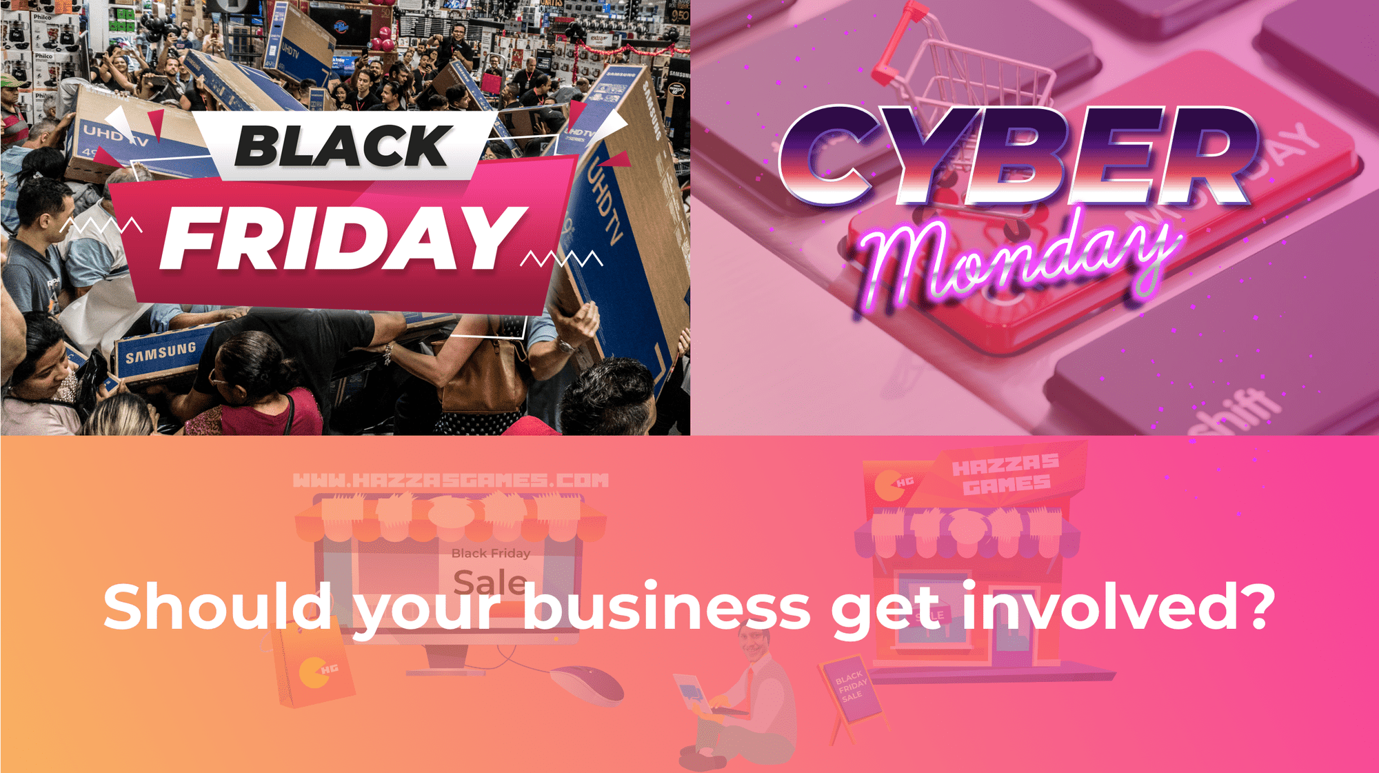 Should Your Business Get Involved In Black Friday/Cyber Monday?